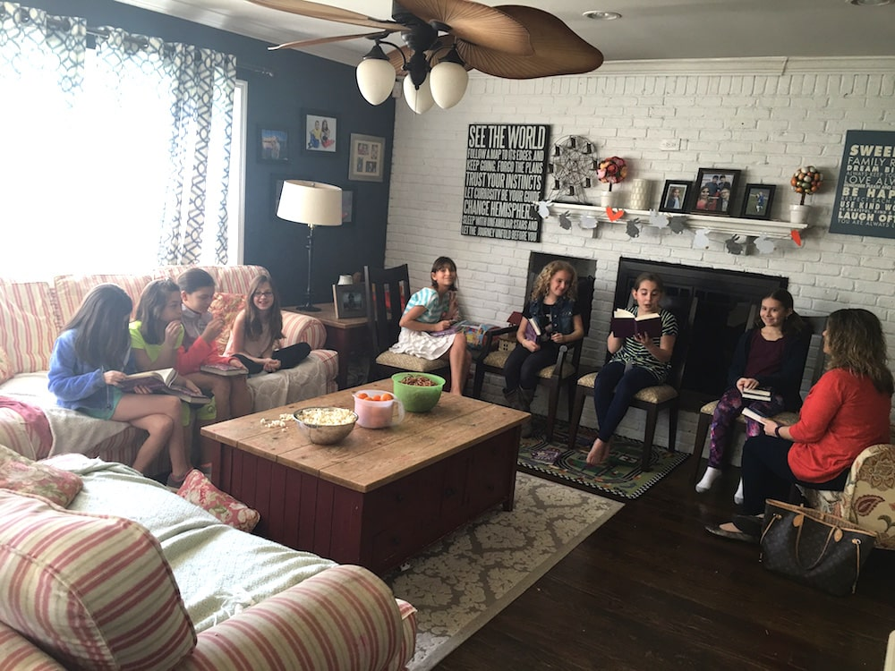 How to host a tween book club