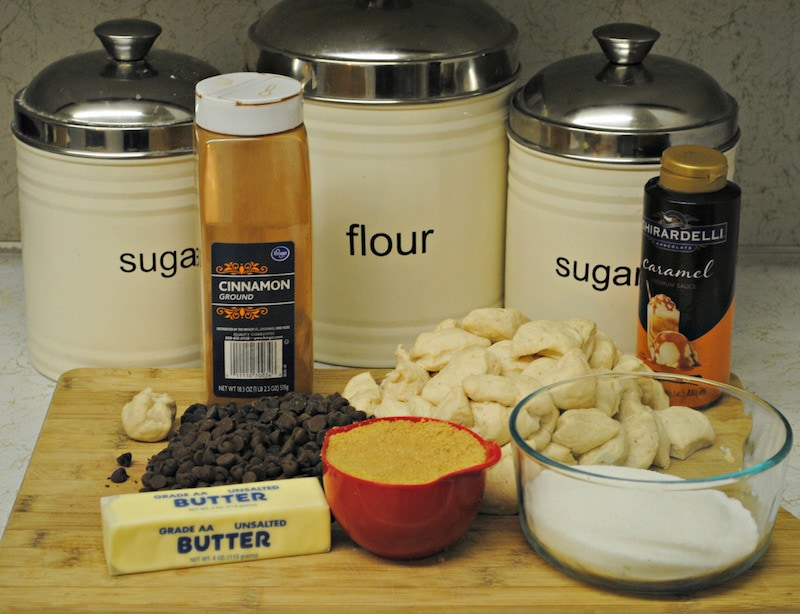 chocolate monkey bread ingredients