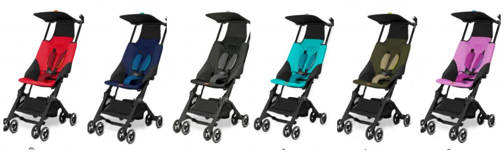 GB Pockit Stroller Colors