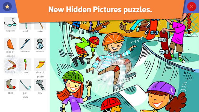 Highlights hidden picture puzzle