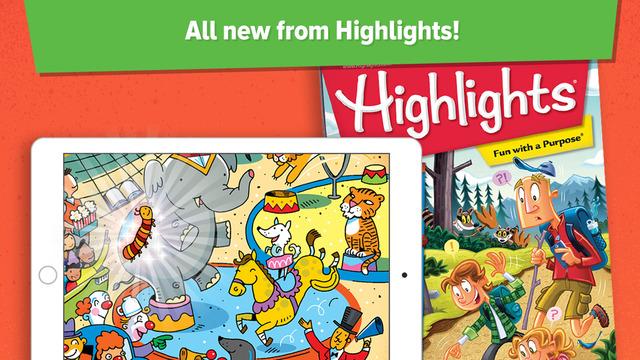 Highlights app shot 3