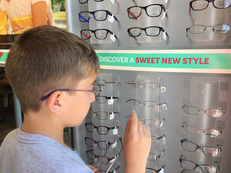5b9cd1f480 New Glasses For Liam  One Stop Shop At Pearle Vision  PearleVision ...