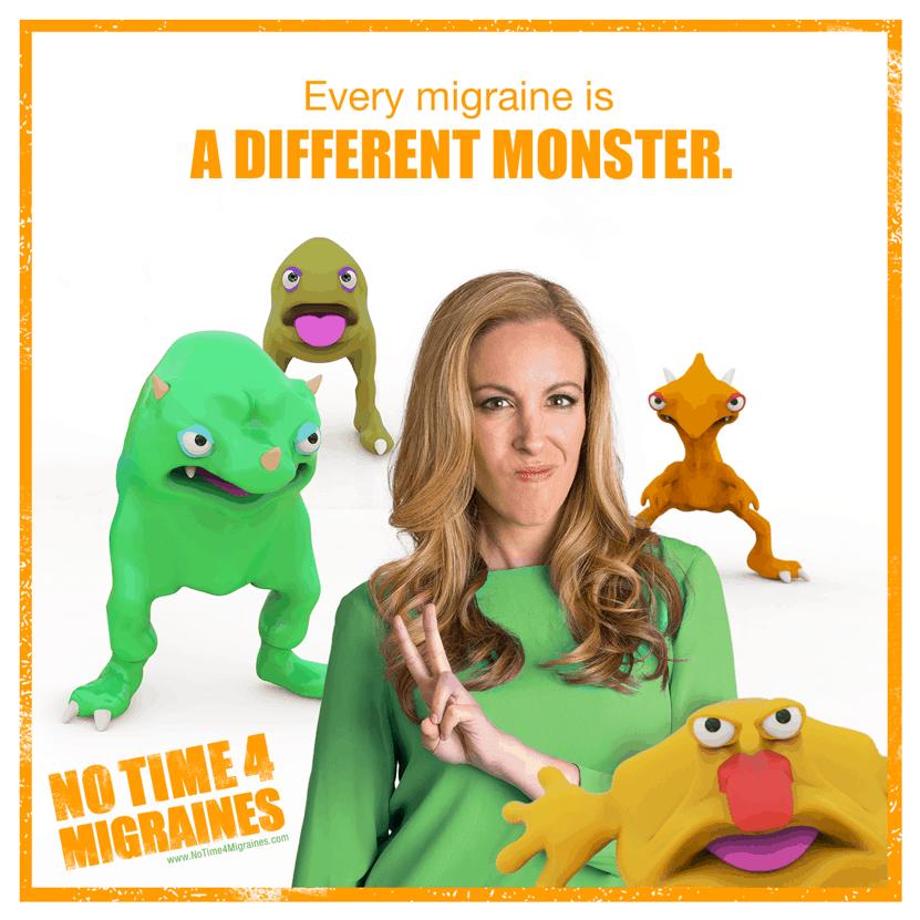 Migraine Monster Pic