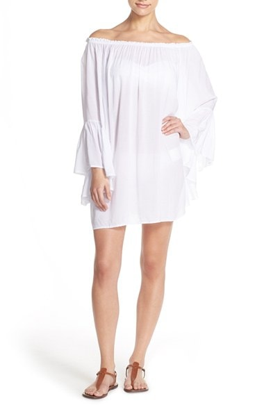 Women's Elan Bell Sleeve Cover-Up Tunic<