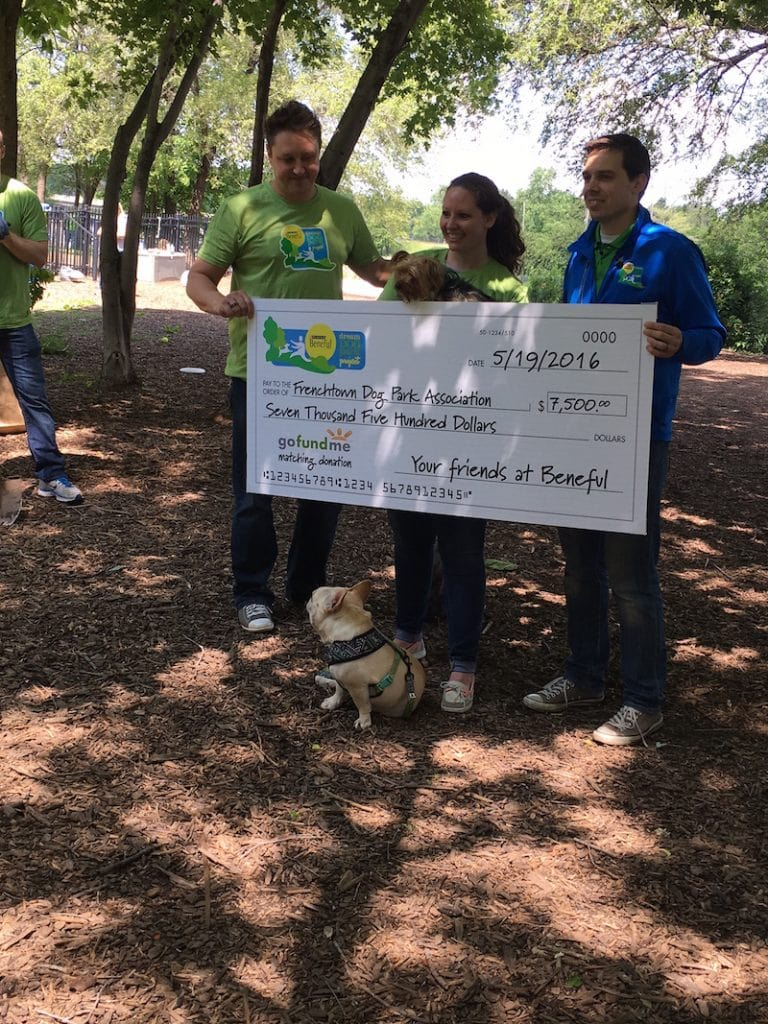 Help Support The Beneful Dream Dog Park Project