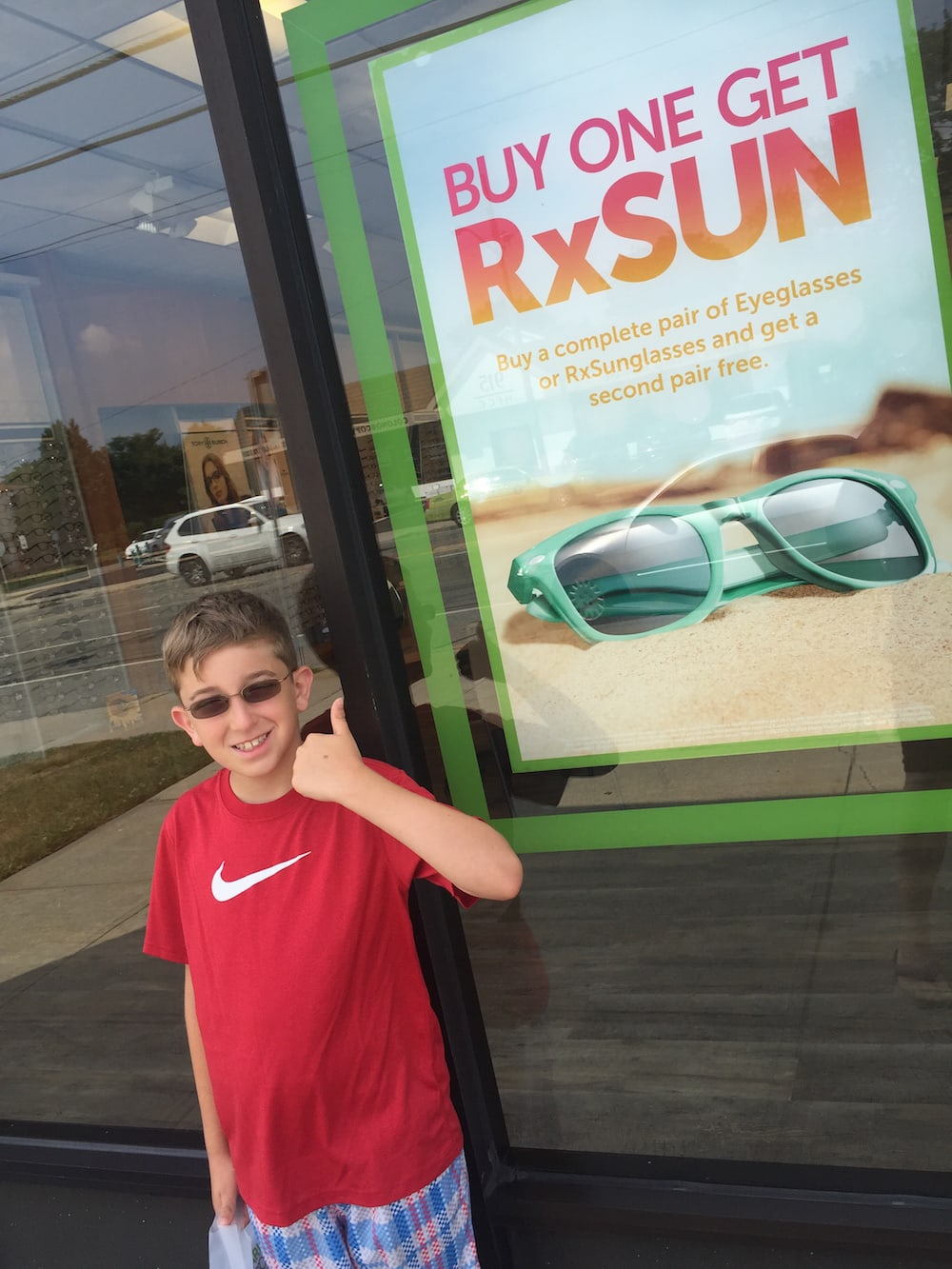 cbb502a1240 It s been a few weeks since Liam has been rocking his new glasses from Pearle  Vision and we couldn t be happier. We mentioned in our last post that we  opted ...