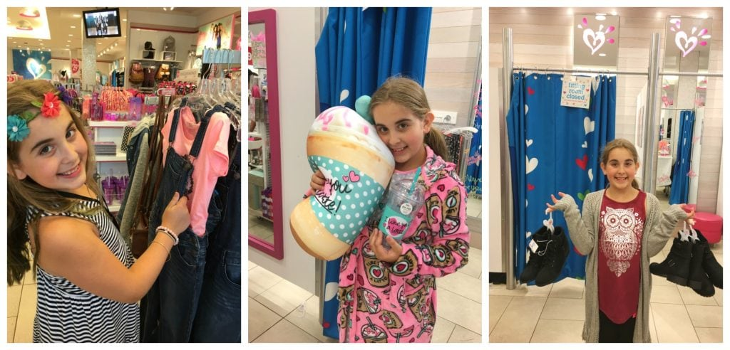 Justice Back to School Clothing Shopping For Girls