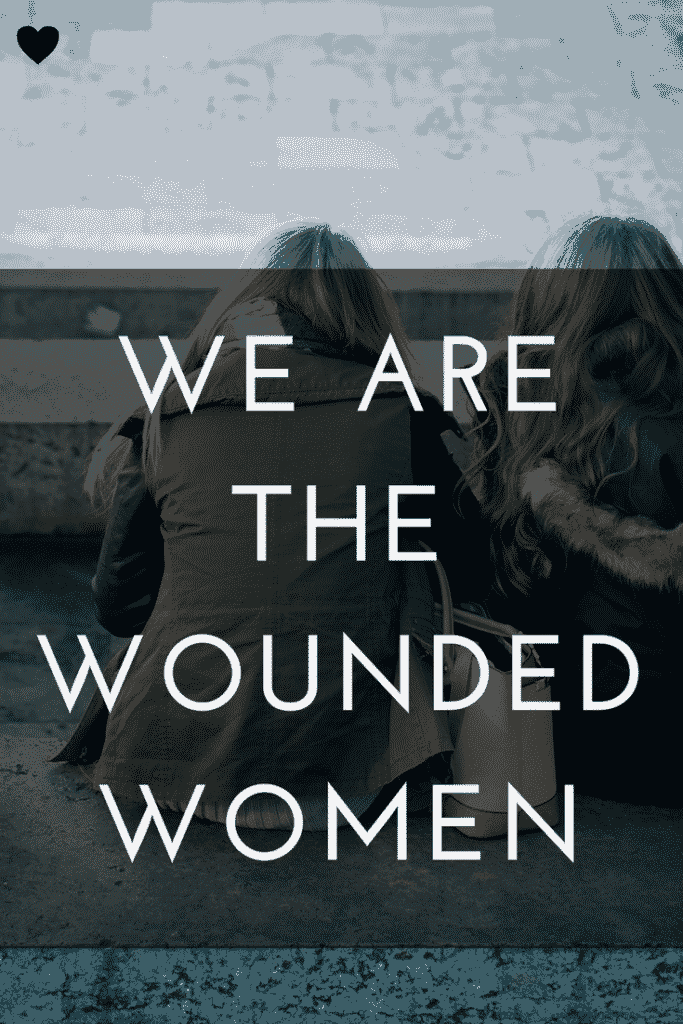 wounded women