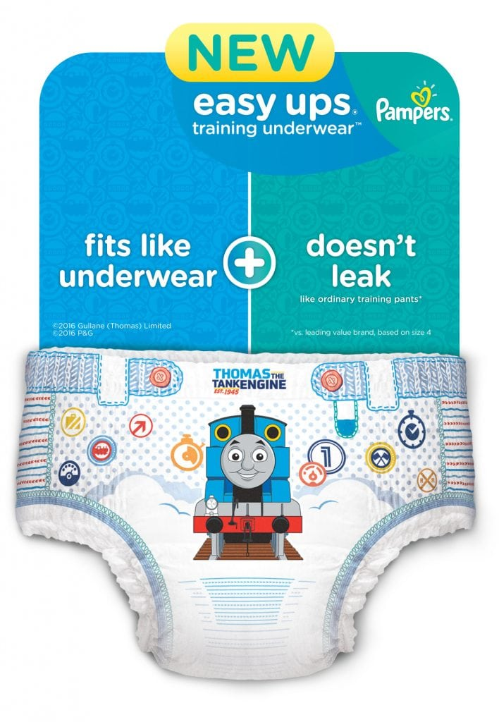 New Pampers Easy Ups Training Underwear