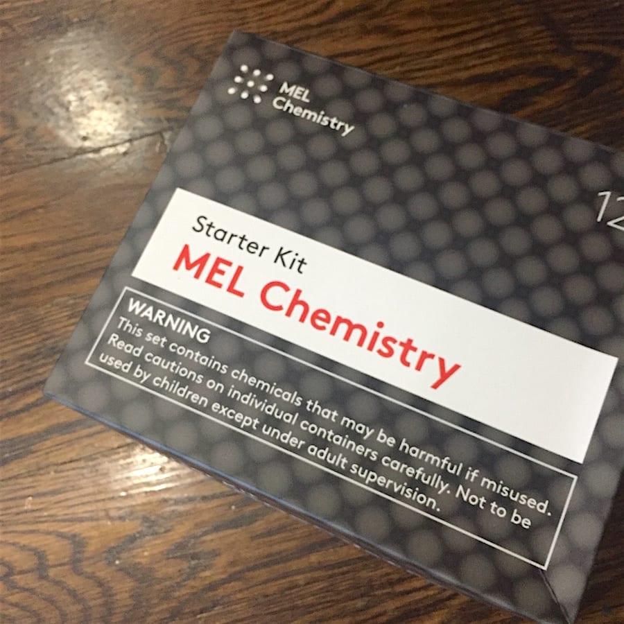 Started MEL Chemistry kit