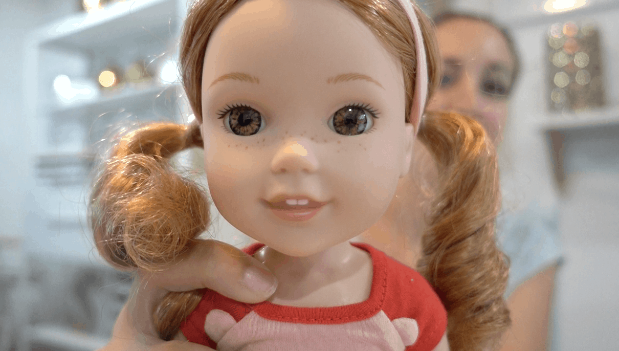 American Girl Introduces Wellie Wishers Doll Line Here S