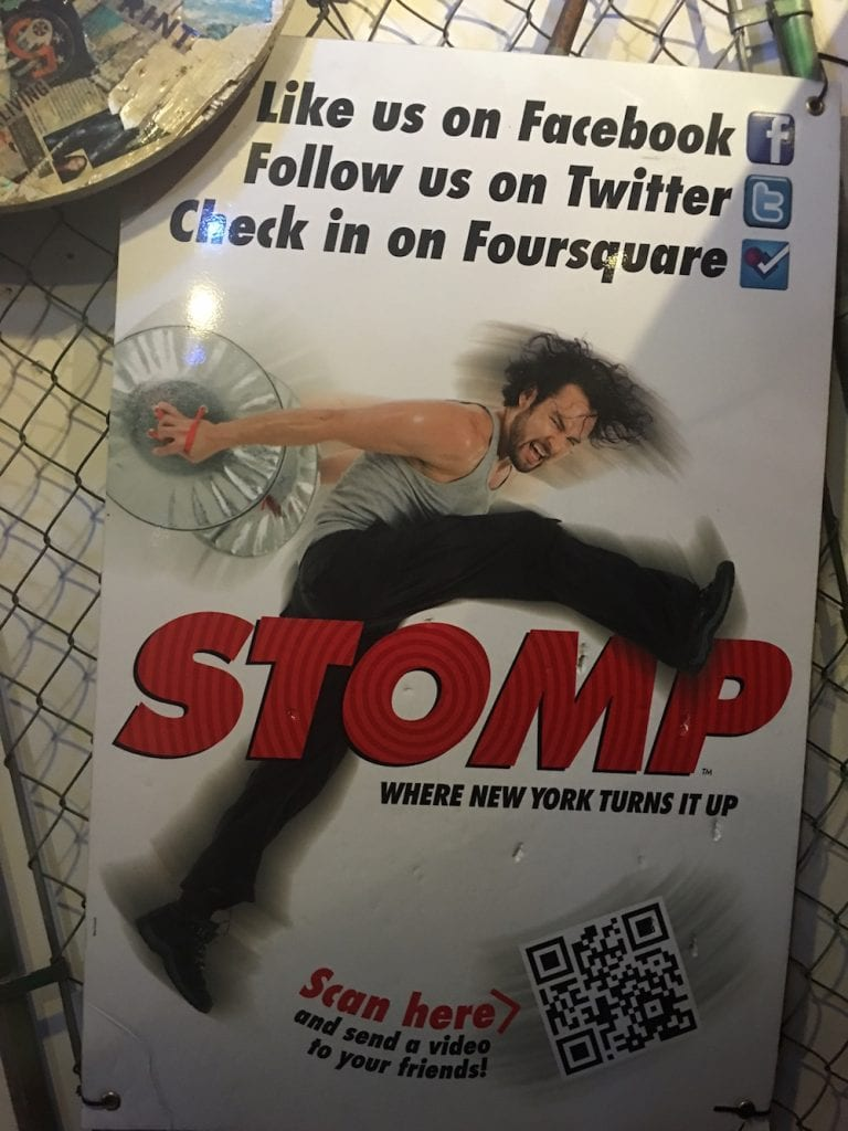 Outside of Stomp NYC