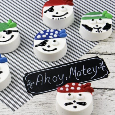 Pirate Oreo Cookie Recipe: Fun Design For Kids