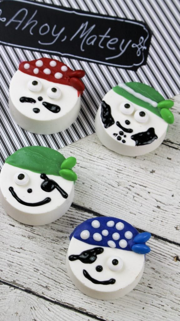 Pirate Oreo Cookie Recipe: Fun Design For Kids