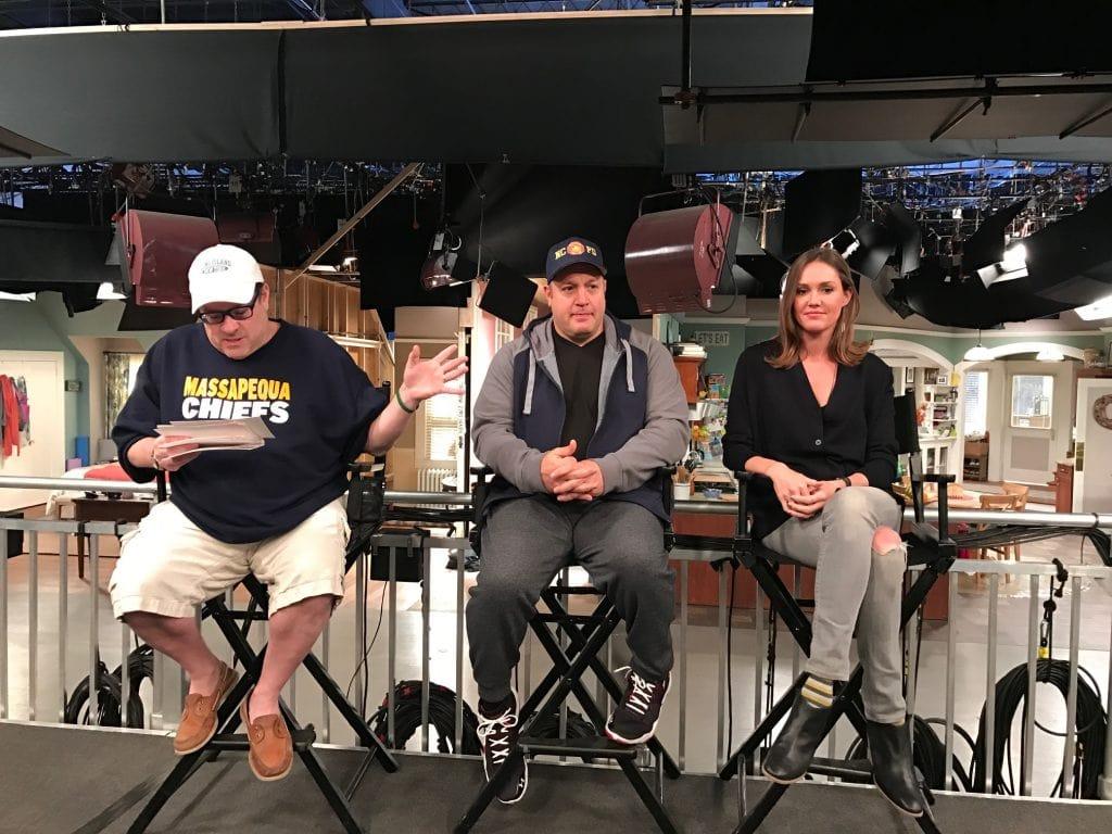 Kevin Can Wait Set Cast Interviews