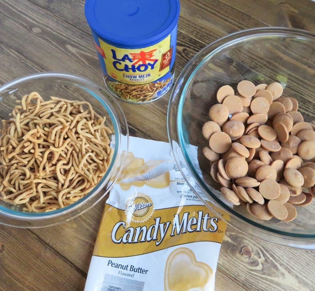 Peanut Butter Haystacks ingredients