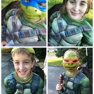 Teenage Mutant Ninja Turtle Halloween Costumes For Everyone #Target #TMNT