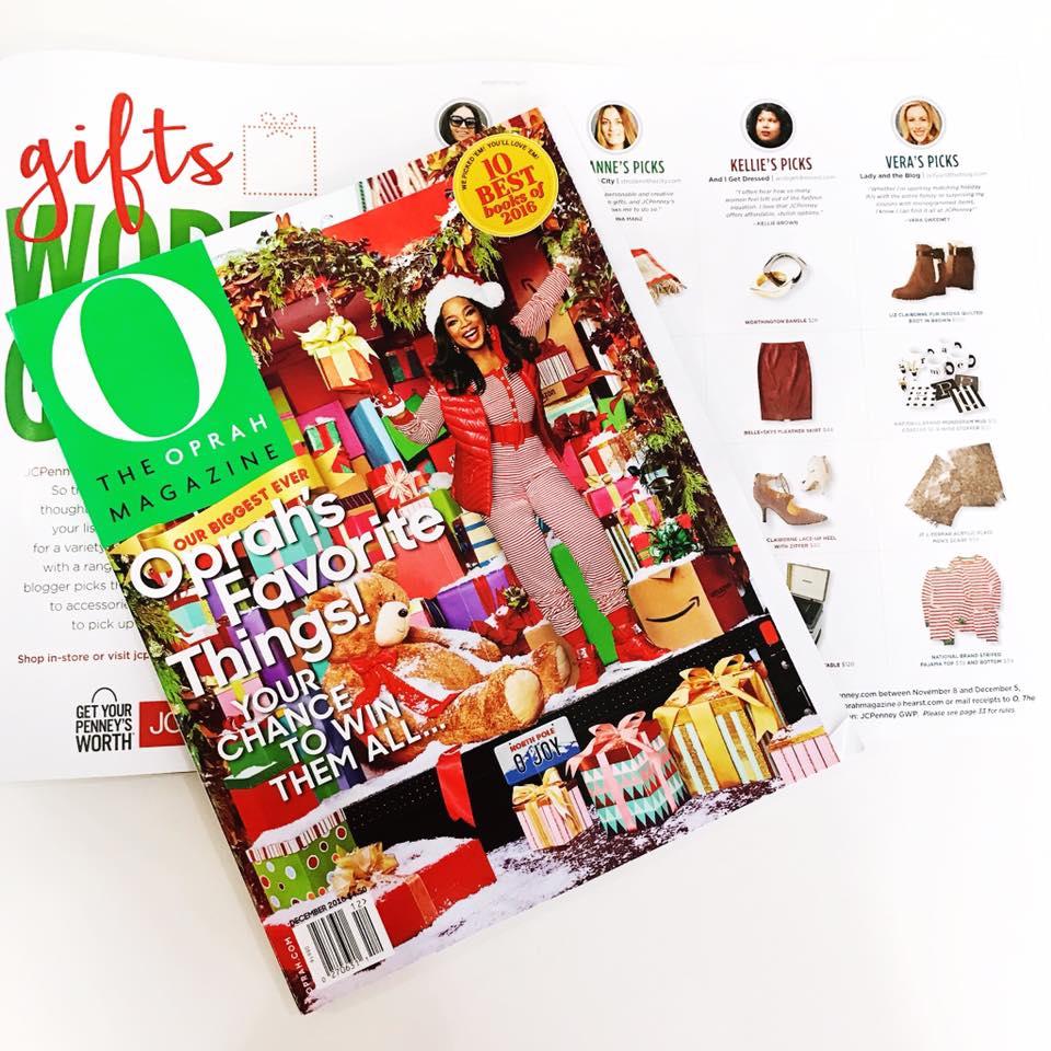 I'm In This Month's Oprah Magazine