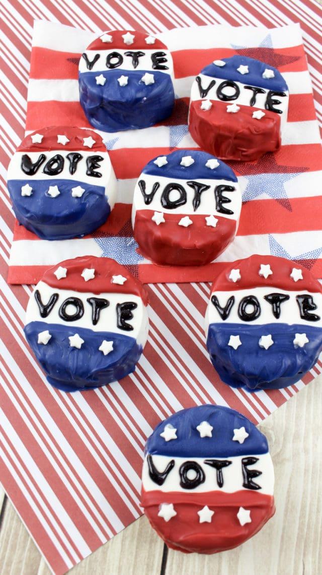 I Voted: Oreos Recipe To Celebrate The Election