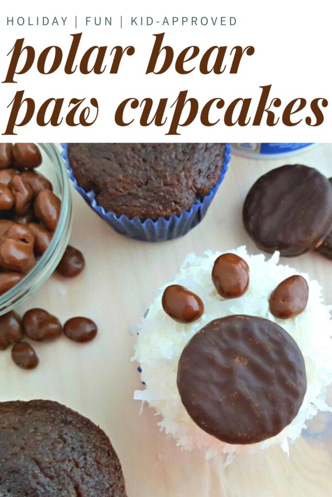 bear paw cupcakes
