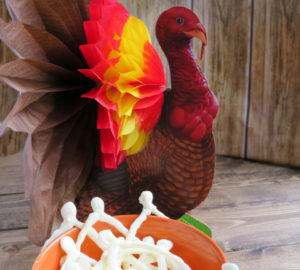 White Chocolate Wishbones Recipe: Thanksgiving Treats For Kids