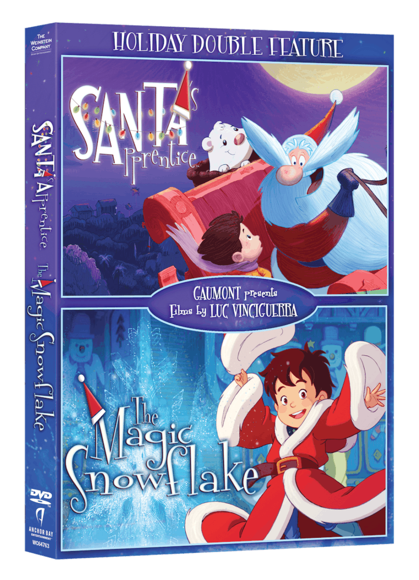 Santa's Apprentice and The Magic Snowflake! holidaydvd-doublefeature