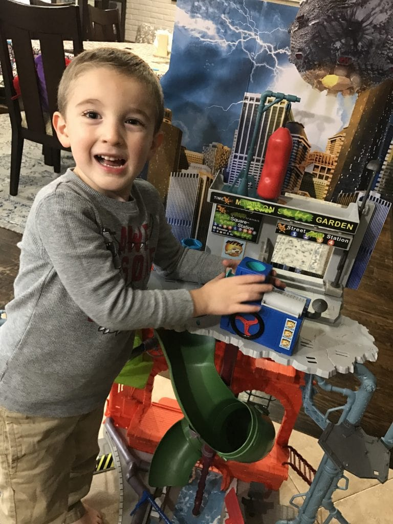 TMNT City Sewer Layer Toy Review