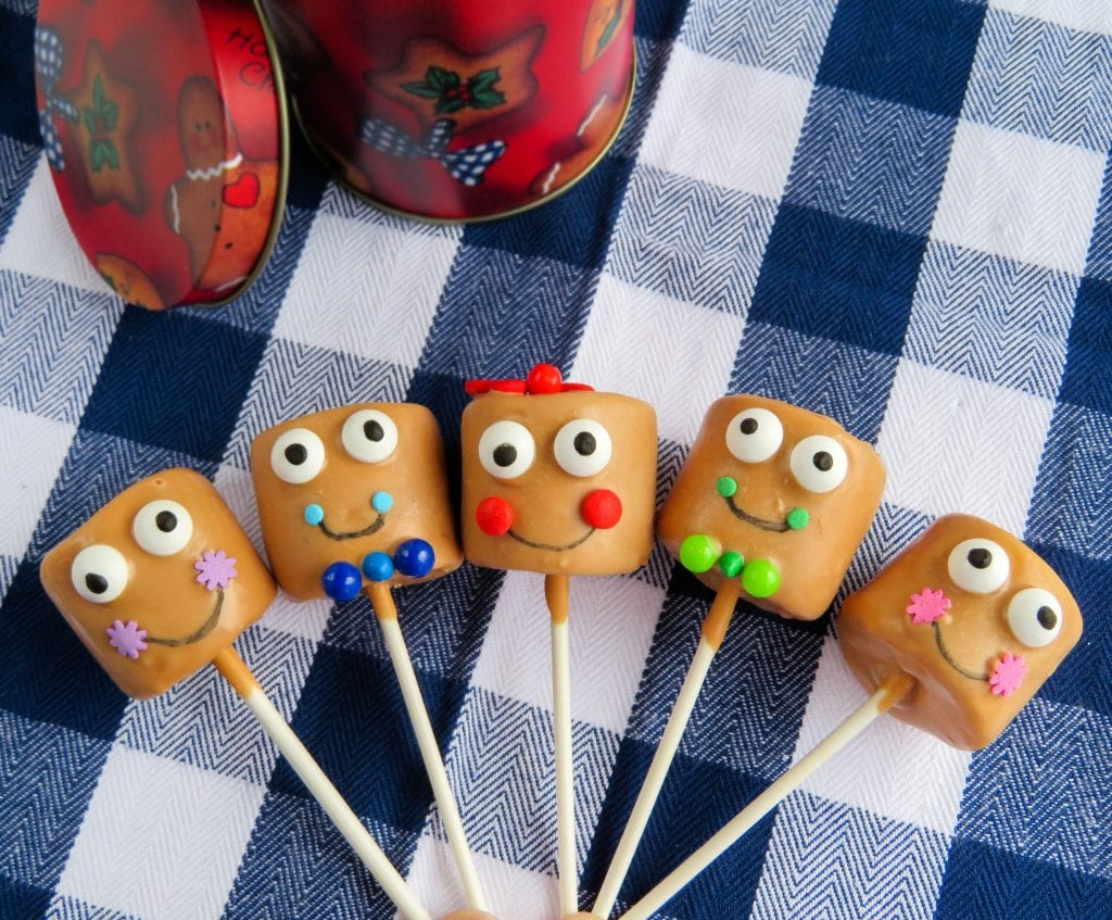 family of Gingerbread Pops