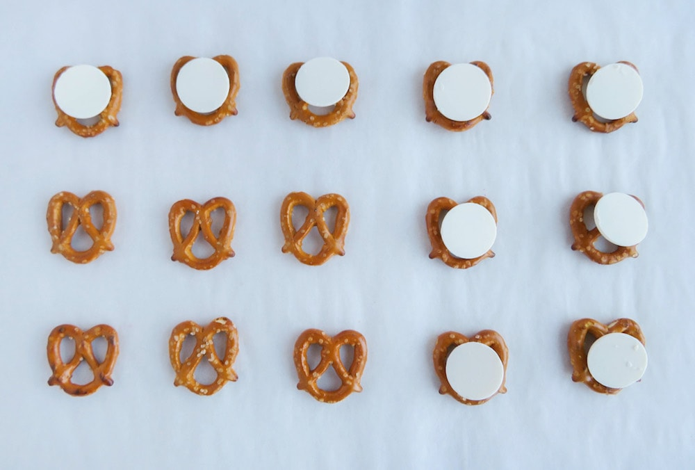 Christmas Pretzels recipe