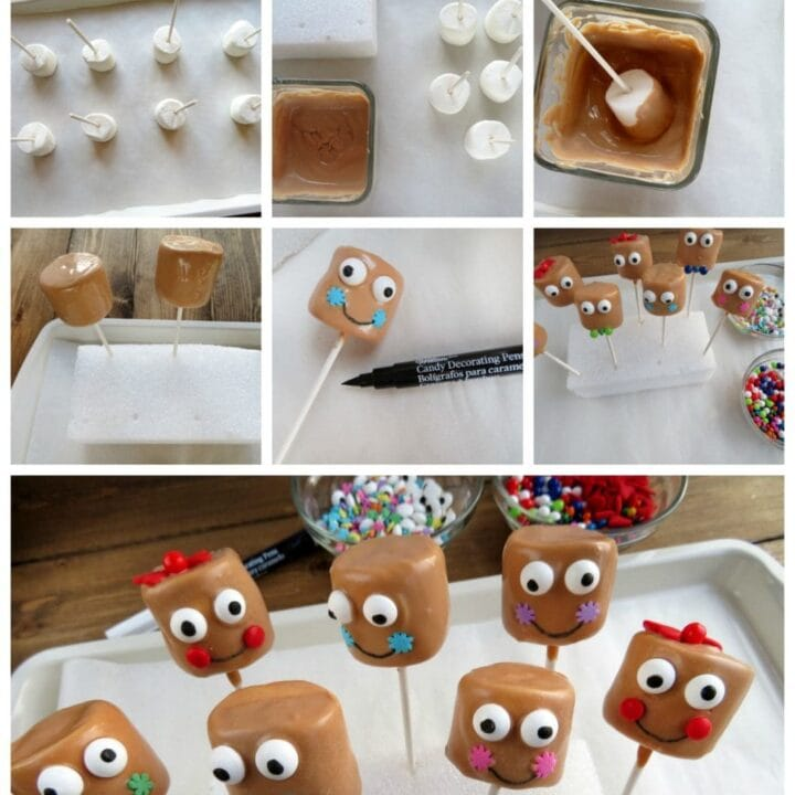 Gingerbread Man Pops Holiday Recipe