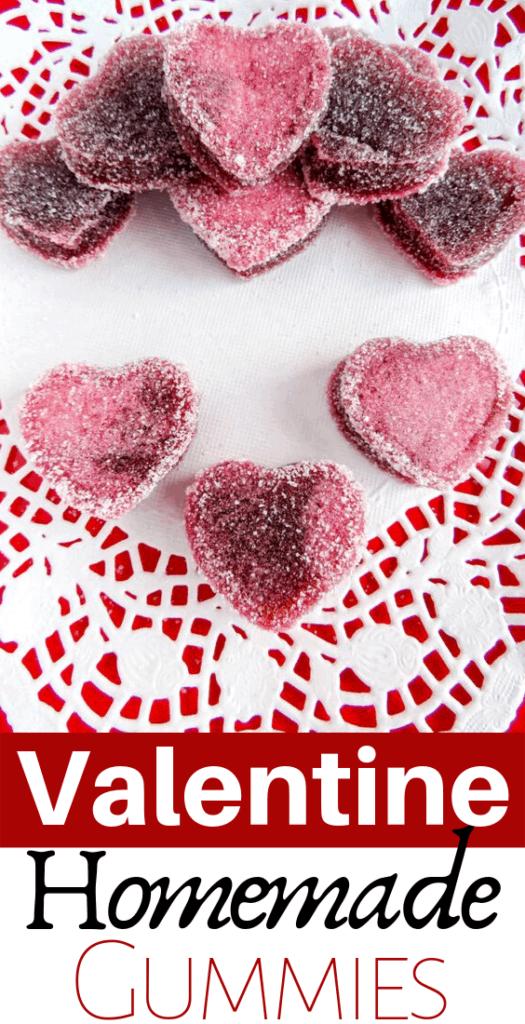 Valentine's Day Heart Gummies