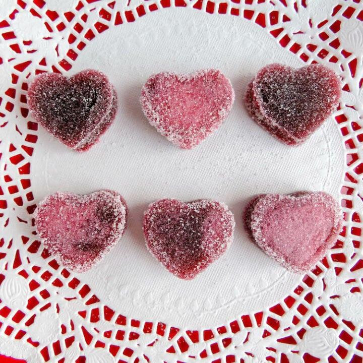 Valentine's Day Heart Gummies: Jell-O Treat Recipe