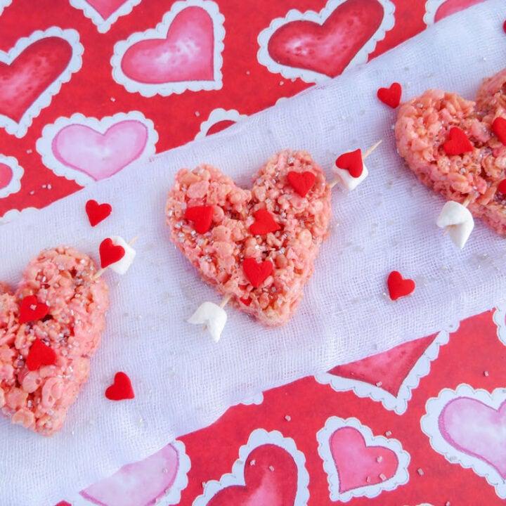 Valentine's Day Rice Krispie Treats: Cupid's Heart Recipe