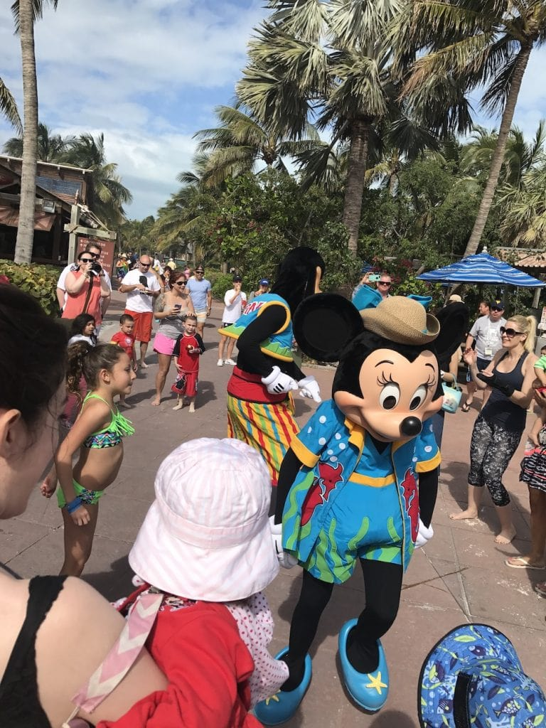 Dance party with minnie and mickey
