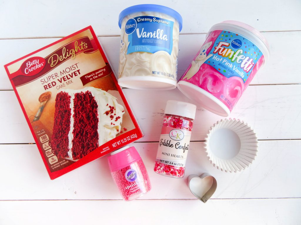 valentines cupcakes ingredients