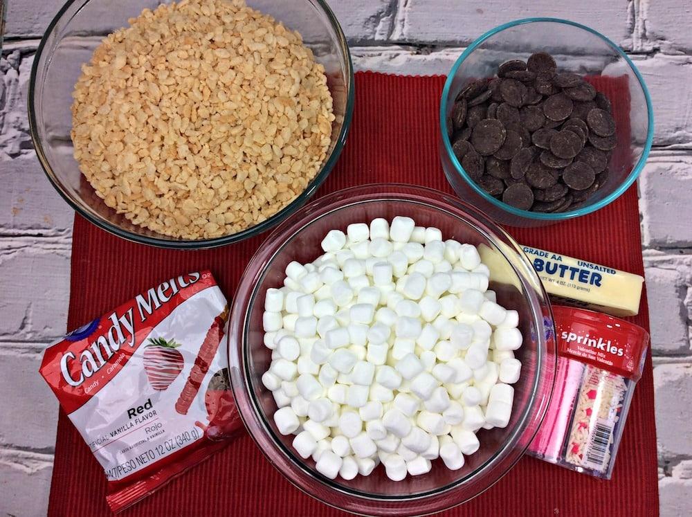 chocolate rice krispie treats ingredients