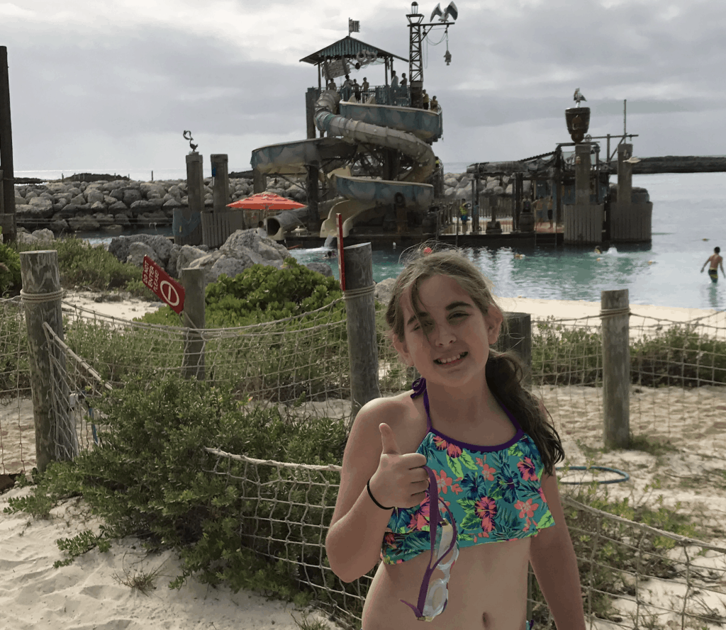 Pirate Slide Castaway Cay