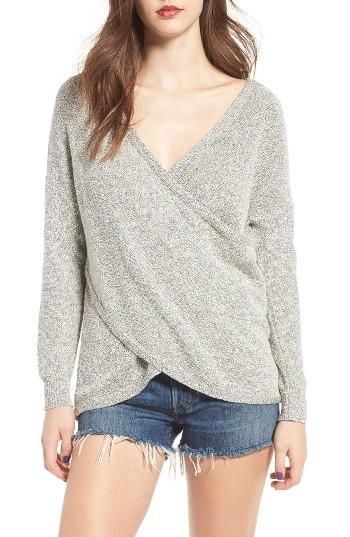 Women's Lira Clothing Lunar Surplice Sweater