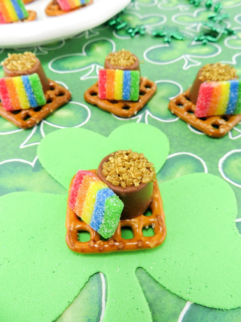 Pot Of Gold - St. Patrick's Day Dessert Treat For Kids Recipe