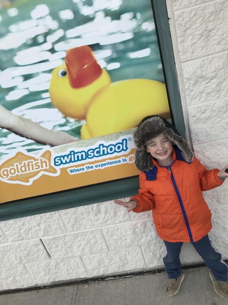Goldfish Swim School Keeps My Son Kicking Lady And The Blog