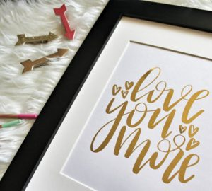 8 Valentine's Day Prints From Etsy For That Special Someone