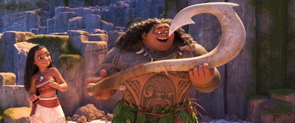 Another scene from Moana