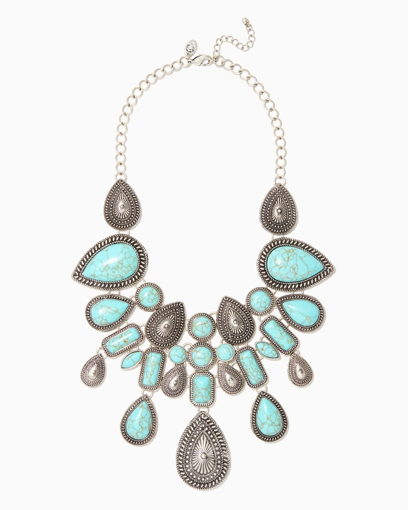 Southwestern Inspired statement necklace