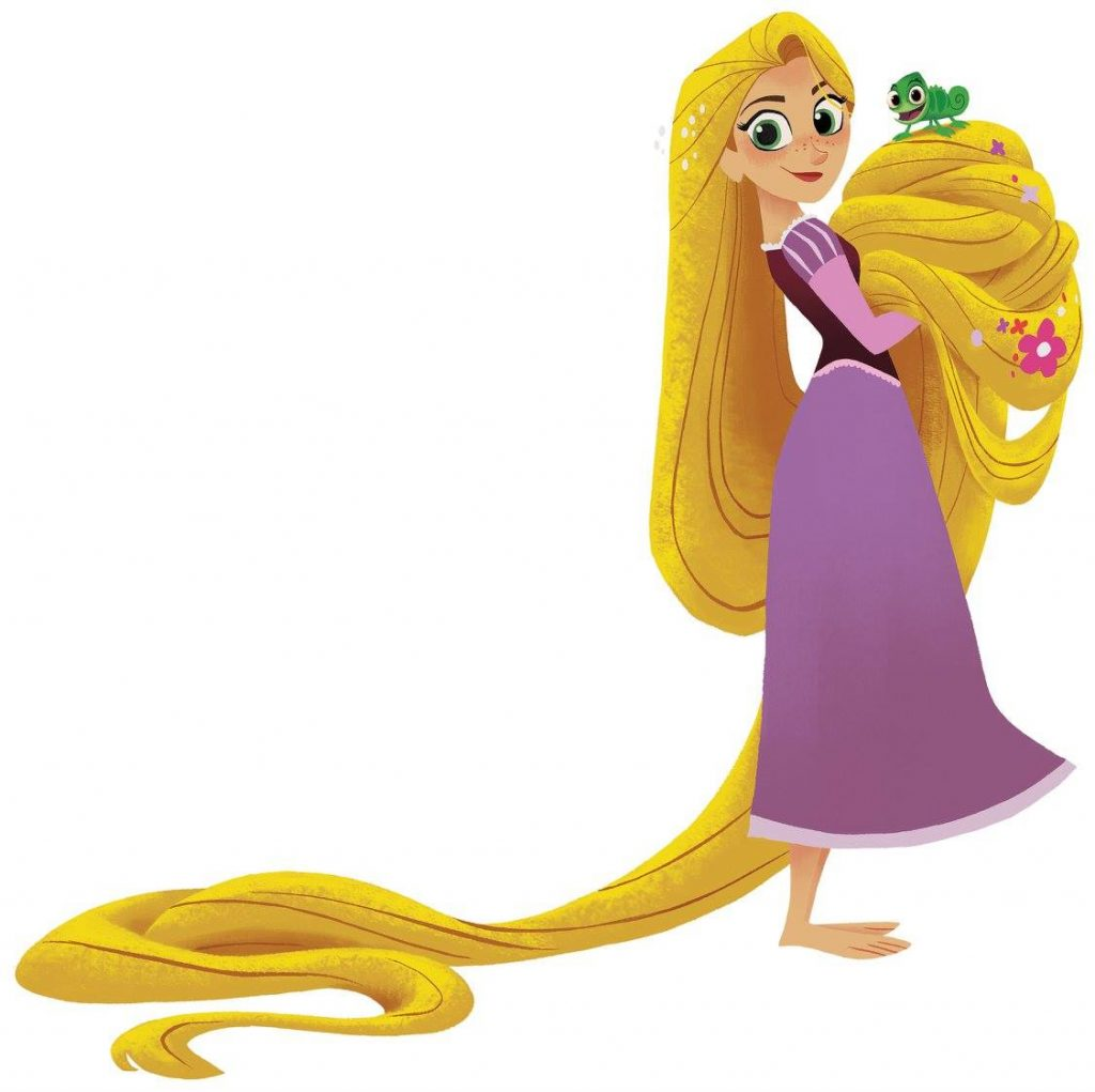 'Tangled: Before Ever After' - Look At Rapunzel Hair