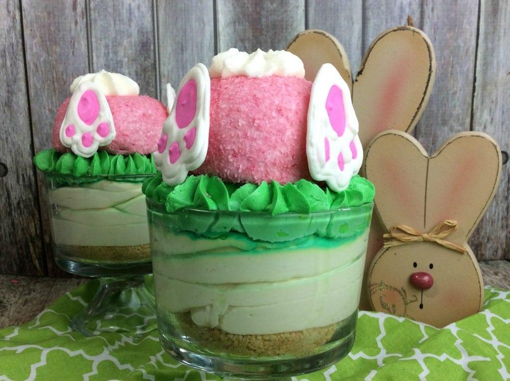 Hidden Easter Bunny Desert in Trifle
