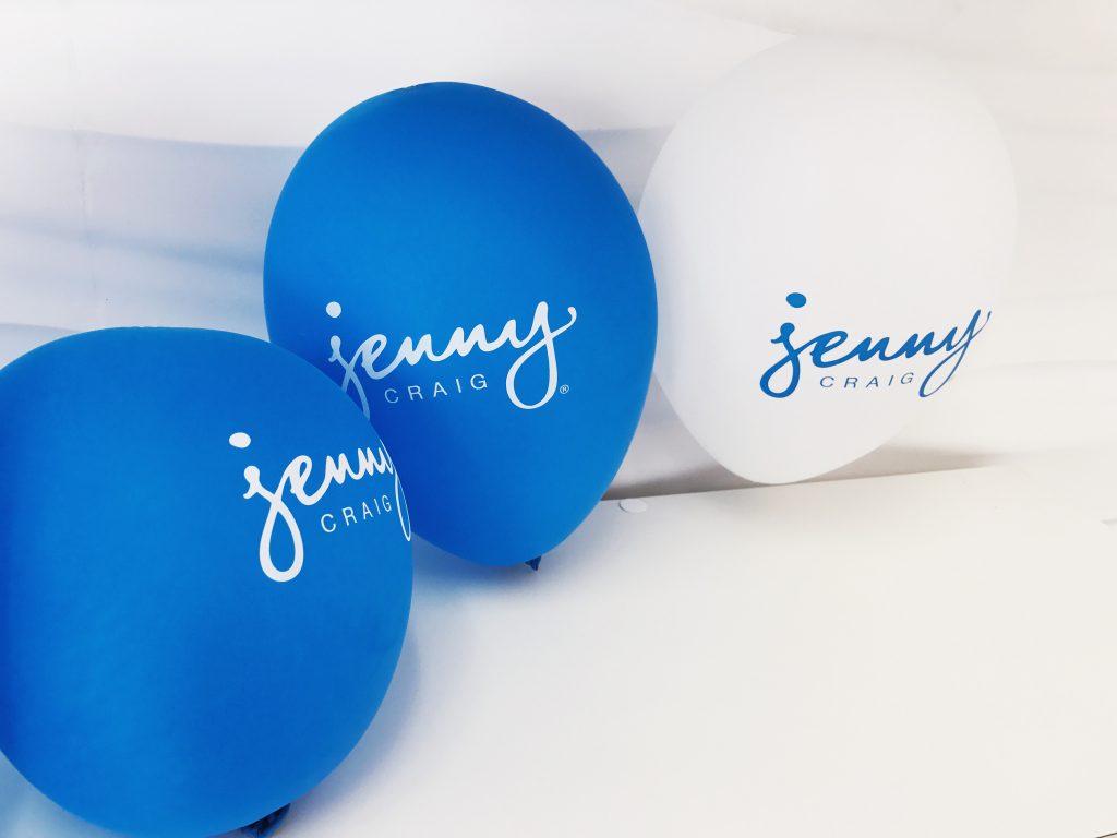 Jenny Craig Balloons