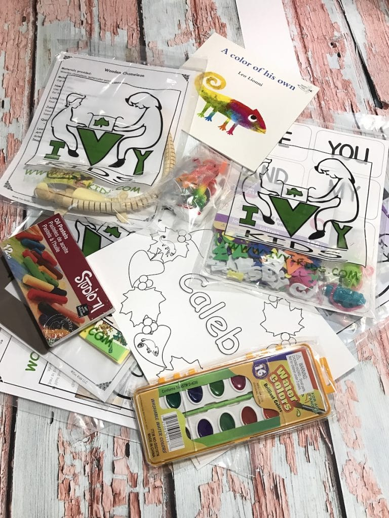 What comes with your Ivy Kids Subscription Box