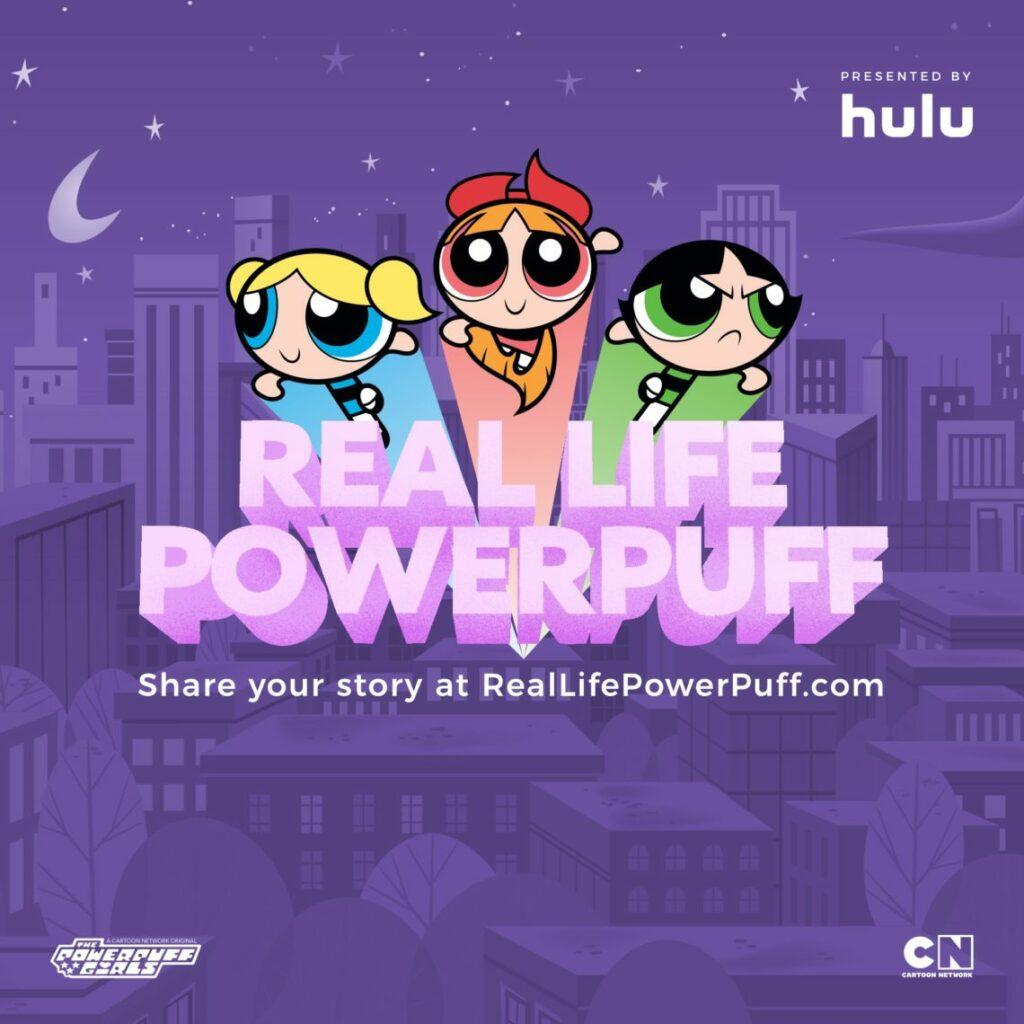 Real Life Powerpuff Girl with HULU