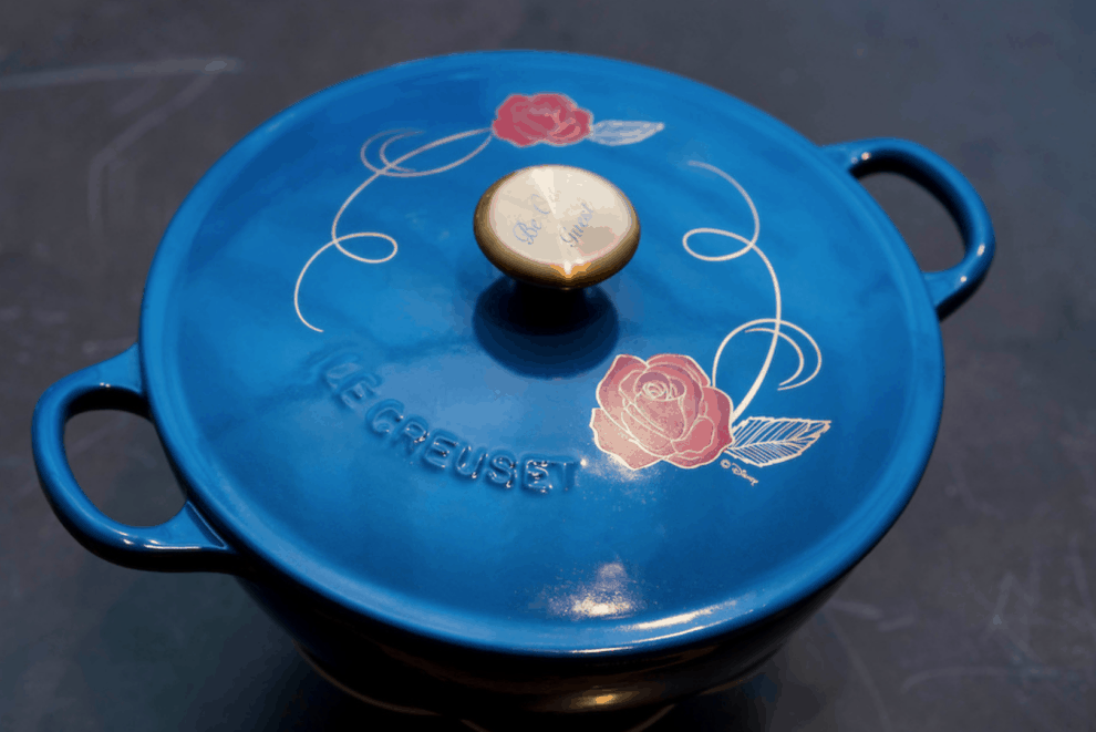 The Le Creuset Beauty And The Beast Soup Pot From Williams Sonoma