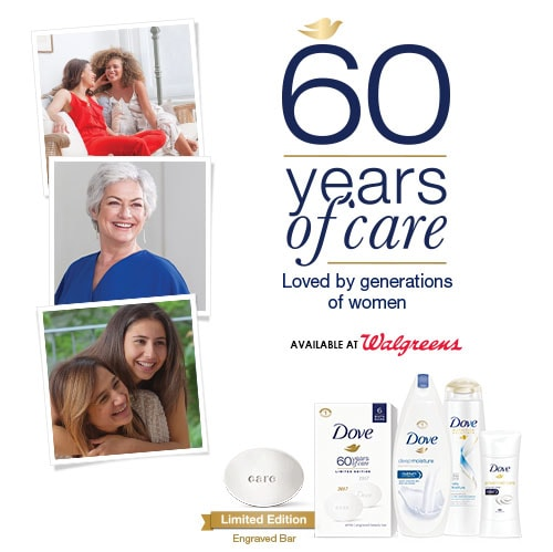 time to celebrate the 60th Anniversary of Dove!